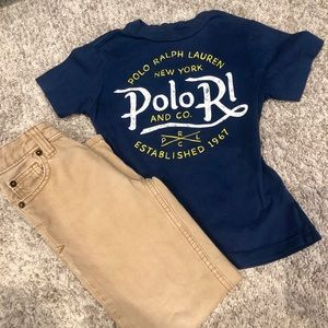 Boys Polo by Ralph Lauren t-shirt Lot